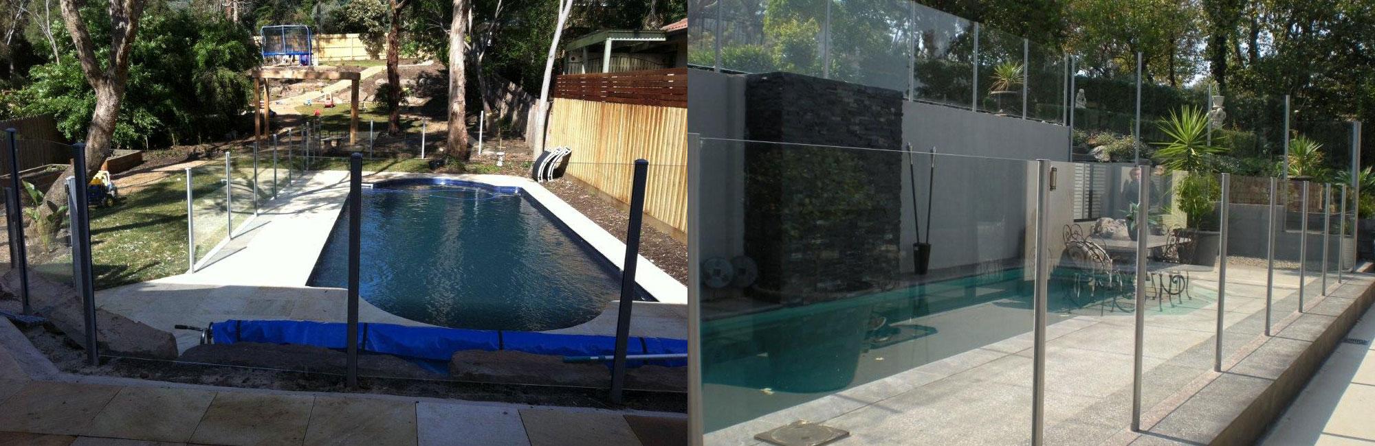 Semi Frameless Glass Pool Fencing Melbourne Glass Balustrades