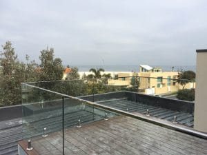 Glass Balustrade Decking