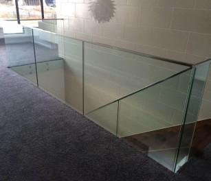 Semi Frameless Glass Balustrade