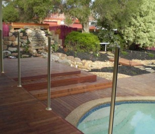 Semi Frameless Glass Pool Fencing