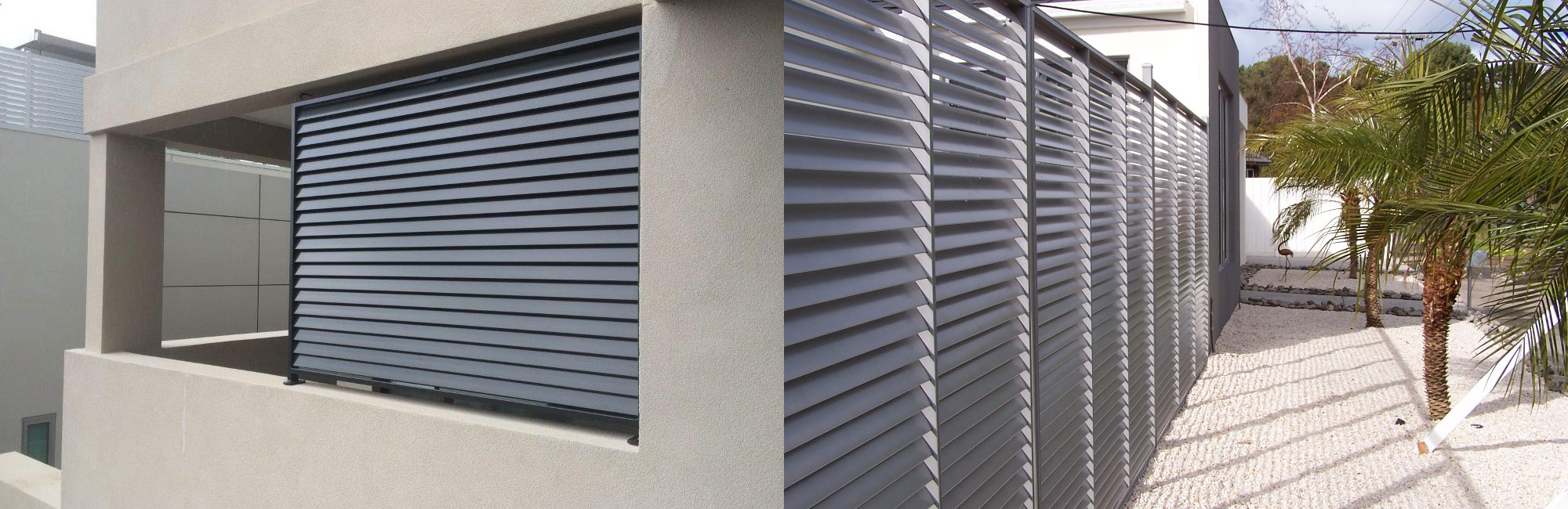Aluminium Louvres Panels Amp Screens Melbourne Glass