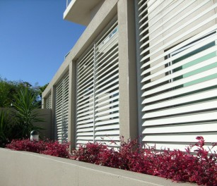 Fence louvres